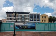 New Paint Added to Old Streets of America Building Facades