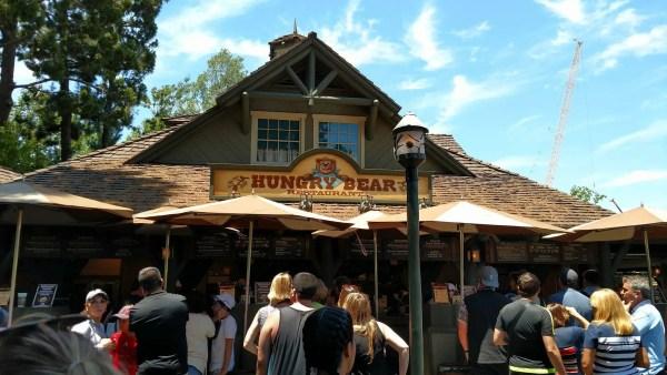New food at Disneyland Hungrybear