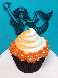 Enjoy a Orange Creamsicle Cupcake this Summer at Epcot