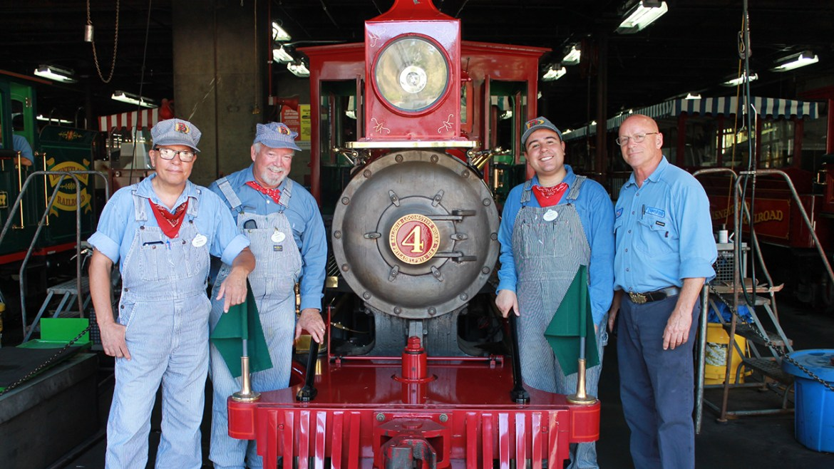 Disneyland Engineers Celebrate the Return of the Much-loved Disneyland Railroad