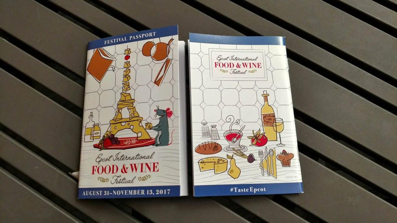 The 2017 Epcot Food & Wine Festival Passport Revealed