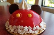 Mickey Maple Cherry Santa Hat Dome Cake is Perfect Holiday Treat at All Star Resorts