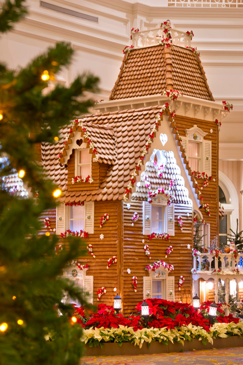 Construction on the Grand Floridian's Gingerbread House Has Begun!