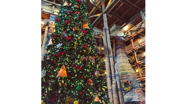 Walt Disney World Deluxe Resorts Go All Out for the Holiday Season
