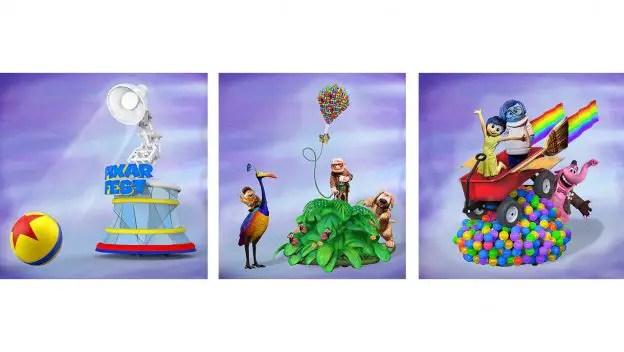 12 Days of Disney Parks Christmas: Pixar Play Parade to Debut New Pixar Fun at Disneyland