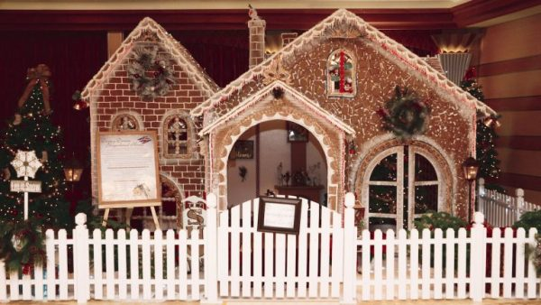 Disney Cruise Gingerbread House