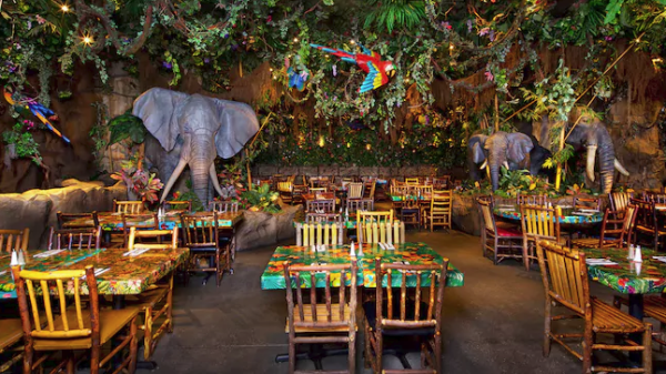 New Permit filed for work on Rainforest Cafe in the Animal Kingdom 1