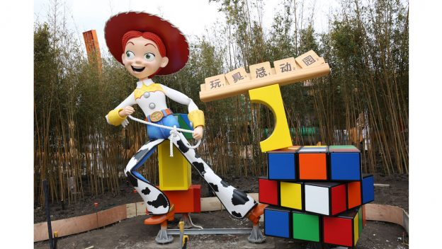 Woody and Jessie are Now Welcoming Guests to Toy Story Land at Shanghai Disneyland!