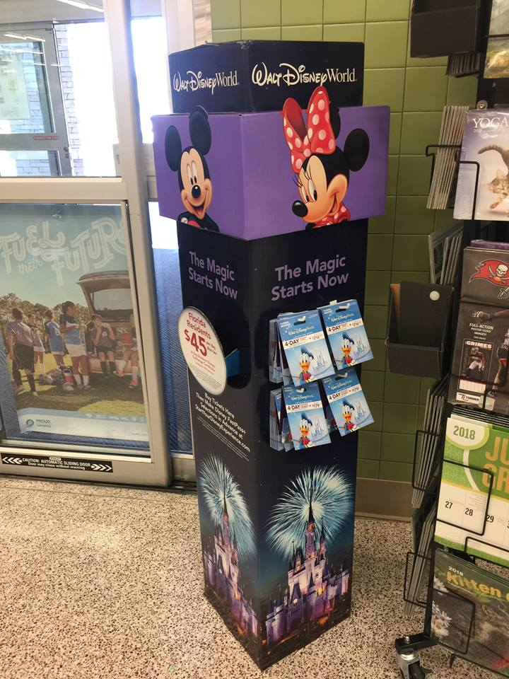 Discounted Discover Disney Florida Resident Tickets Now Available at Florida Retailers