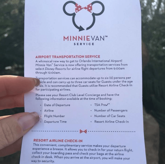 Minnie Vans Will Now Take You to Orlando International Airport
