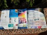 Festival of the Arts Back Spread