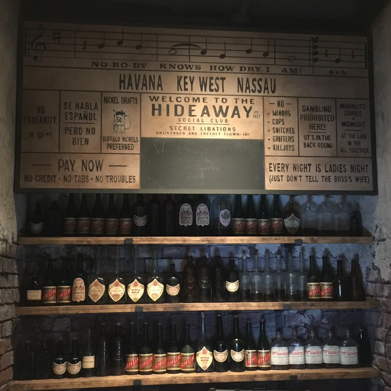 New: Enzo's Hideaway Tunnel Bar at Disney Springs