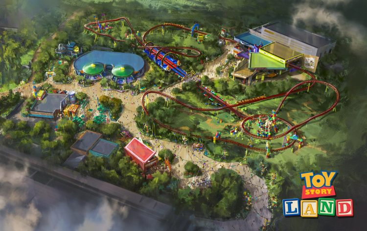 Concept Art and Videos of Upcoming Toy Story Land