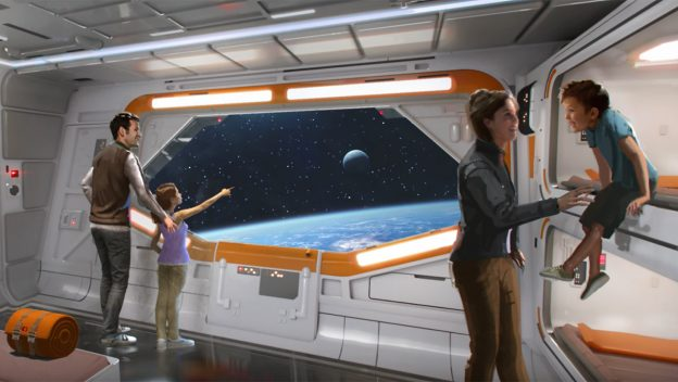 Exclusive Look at Star Wars Resort Coming to Disney World