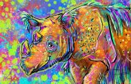 Imagineers Donate Their Personal Artwork to Help Save the Sumatran Rhino