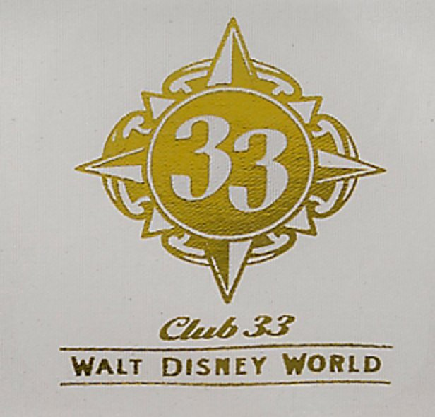 Find Out the Names of the Four Club 33 Locations at Walt Disney World