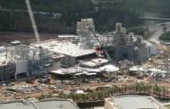 AERIAL PHOTOS Star Wars: Galaxy's Edge Construction Update