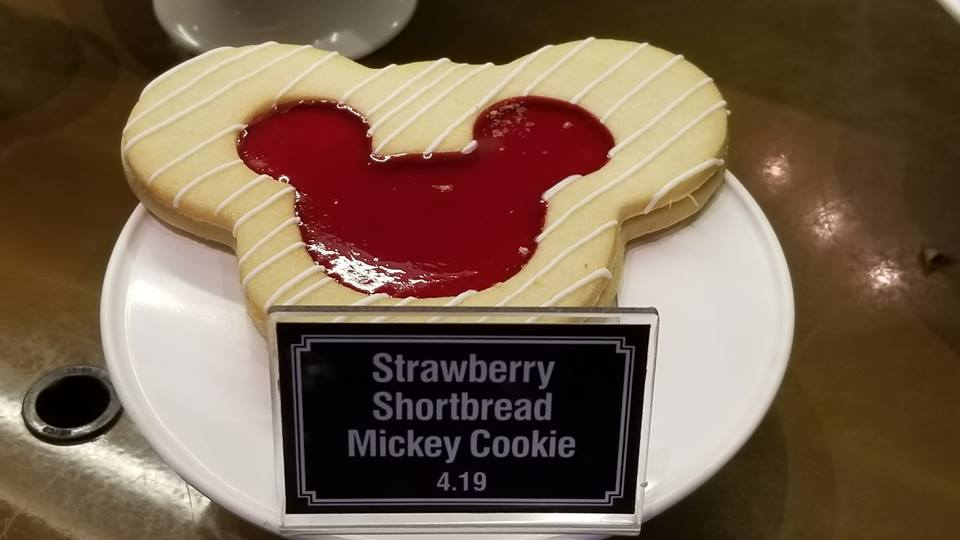 The Strawberry Shortcake Mickey Cookie at Disneyland is the Perfect Treat