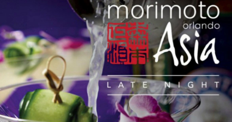 Morimoto at Disney Springs Announces Late Night Entertainment and Menu