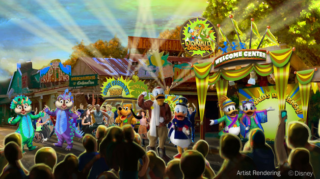 Chip & Dale and More to Join Donald at Donald's Dino-Bash This Summer!