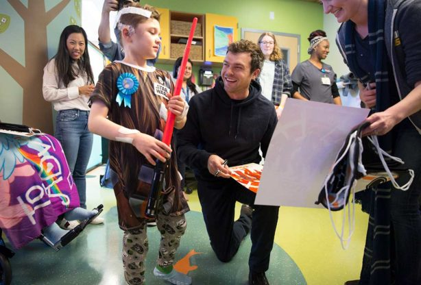 It Was An Extra Special 'Star Wars Day' at this Children's Hospital