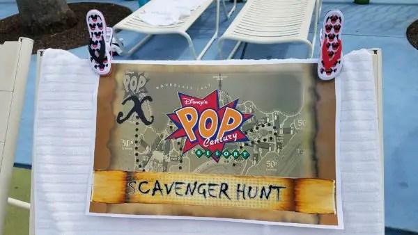 Pop Century Resort Scavenger Hunt Features Groovy Family Fun 1