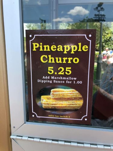 Fresh New Pineapple Churros are Now at Disneyland