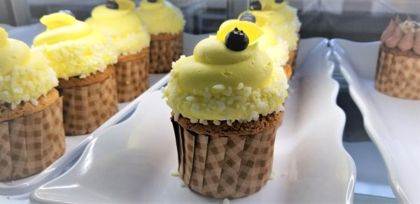 Check Out This Blueberry Lemon Cupcake From Disneys Grand Floridian