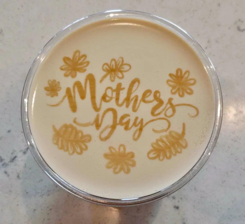 Joffrey's Coffee in Disney Springs Debuts Mother's Day Latte Art