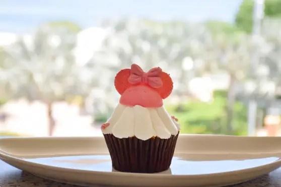 Millennial Pink Cupcake at Contempo Cafe