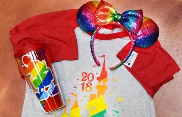 Rainbow Mickey Merchandise