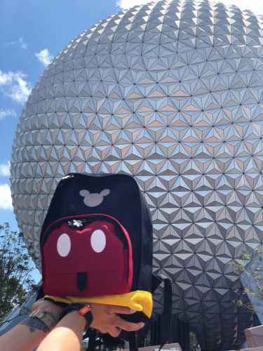This Totally Cute Mickey Inspired Backpack is Perfect For The Parks 1