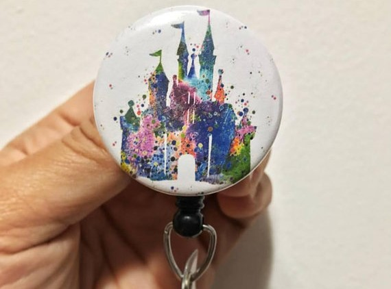 Disney Castle Badge Reels
