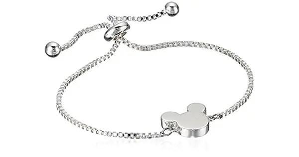 Mickey Silver Pull Bracelet