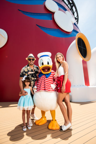 Singer Luis Fonsi Vacations Aboard the Disney Dream 1