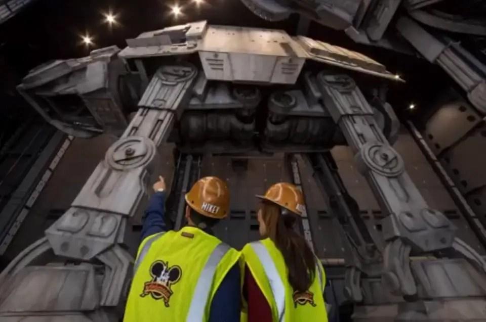 A Closer Look at the Life-Size AT-ATs Coming to Star Wars: Galaxy's Edge