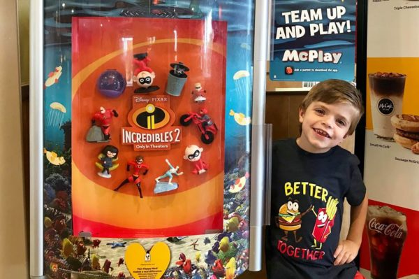 Incredibles 2 Happy Meal Toys