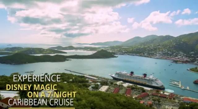 7 Night Caribbean Cruise onboard the Disney Magic