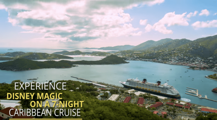 7 Night Caribbean Cruise onboard the Disney Magic