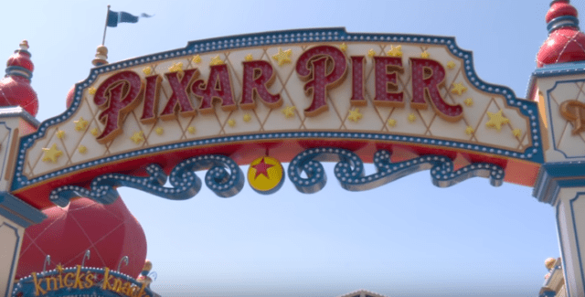 Pixar Pier Entertainment and Atmosphere