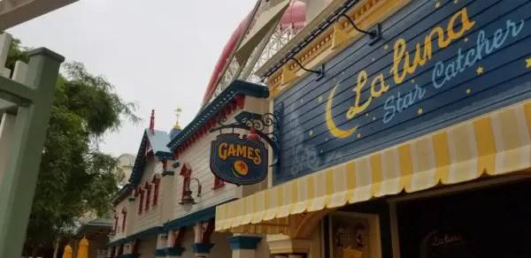 Pixar Pier Promenade Games