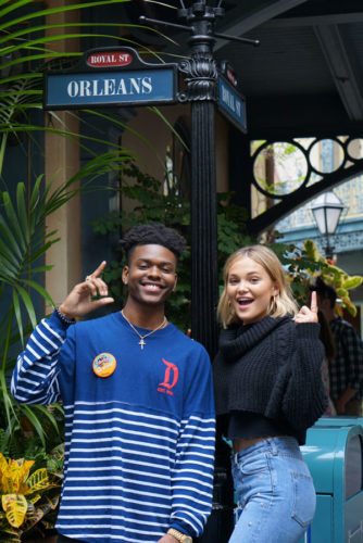 Marvel's Cloak And Dagger Stars Visit Disneyland 4