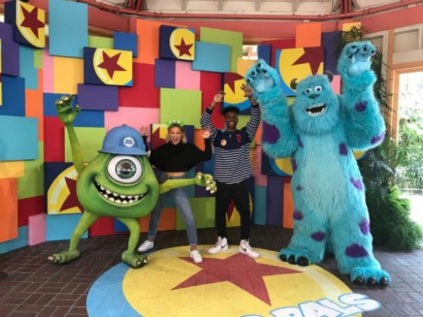 Marvel's Cloak And Dagger Stars Visit Disneyland 6