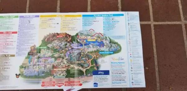 All New Disney California Adventure Park Maps Featuring Pixar Pier 4