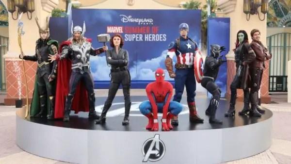 Disneyland Paris Presents Marvel Summer Of Super Heroes 1