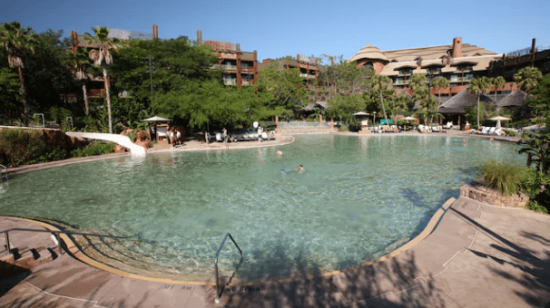Animal Kingdom Lodge Jambo House Pool Refurbishment