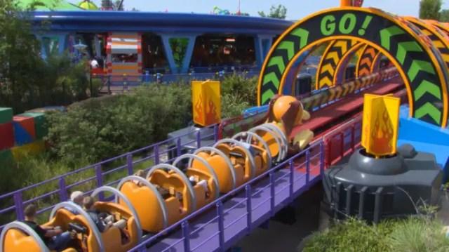 Slinky Dog Dash on-ride video