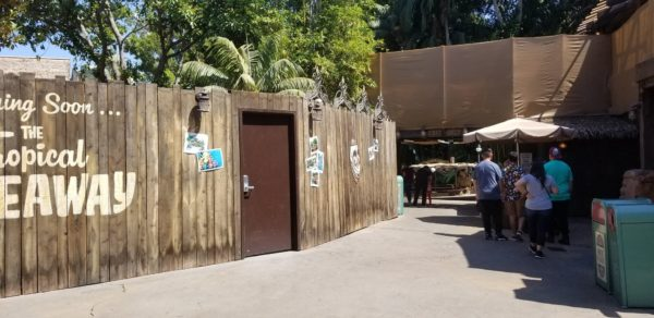 Construction Update On The Tropical Hideaway At Disneyland 2
