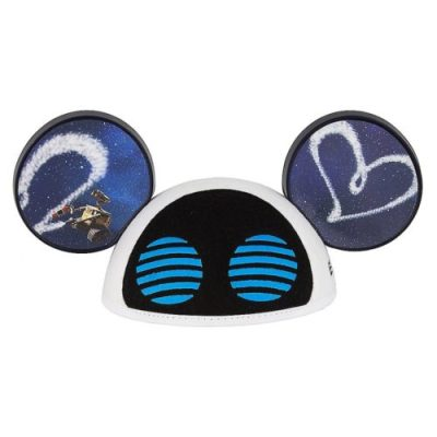 half off 4cb43 76c0a The hats feature a fun twist on the traditional Mickey Ear hat style. The  Wall-E hat features 3-D eyes ...