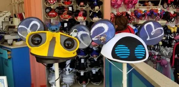 Wall-E Mickey Mouse Ears